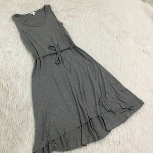 Gap gray t shirt knit lounge dress